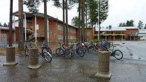 Paltamon Korpitien koulussa on ala- ja yläluokat sekä Paltamon lukio.