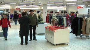 Punaisen Ristin Kontti- kierrätystavaratalo uusissa hulppeissa tiloissaan Launeella