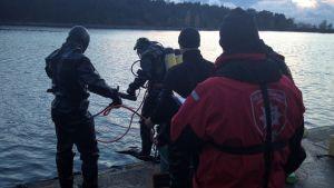 Viranomaiset harjoittelivat AHTI 2012 pelastussukellusharjoituksissa.