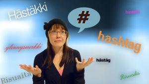 Risuaita Hästäg hastakki hashtag