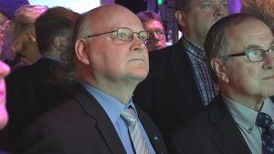 Perussuomalaisten Satakunnan piirin puheenjohtaja Seppo Toriseva.