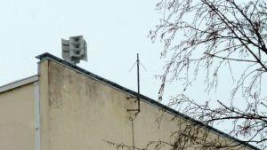 Puheohjeita annettiin Oulun keskustan väestöhälyttimistä.