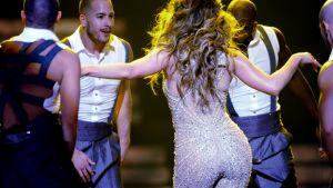 Jennifer Lopez konsertoi Helsingissä keskiviikkona.