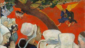 Paul Gauguin: Näky saarnan jälkeen (Jaakobin paini) (1888)