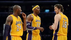 Kobe Bryant Dwight howard pau gasol