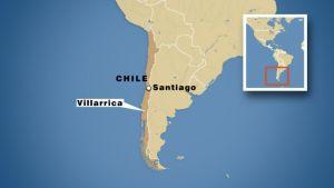 Kartta Chilestä.