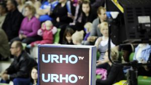 Urho tv:n live-studio.
