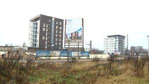 Uusi kerroatsloalue oulun Länsi-Toppilassa marraskuussa 2012