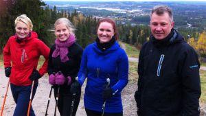 Pirjo Muranen, Taija Romppanen, Eeva Sunnari, Vesa Mäkipää.