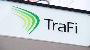 Trafin logo.
