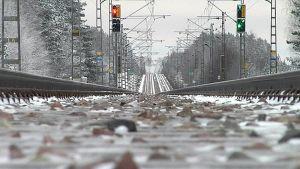 Talvinen junarata