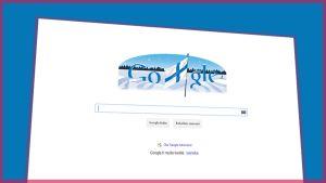 Googlen hakusivusto.