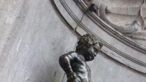 Manneken pis-patsas Brysselissä