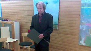 Taidemaalari Erkki Sjöstedt