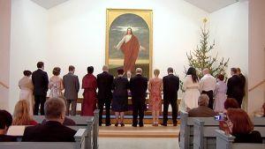 Häät 12.12.2012 klo12.12 Imatrankosken kirkkossa