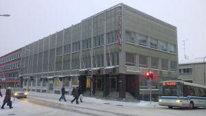 Työnkulman järjestörakennus Kuopion keskustassa.