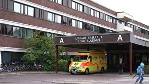Lohjan sairaala.