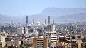 Yleiskuva Jemenin pääkaupungista Sanaasta.