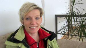 Personal trainer Nina Hietanen.