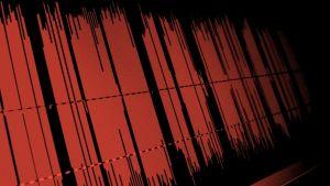 Äänikäyrää kuvaava grafiikka.