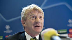 Skotlannin uusi päävalmentaja Gordon Strachan