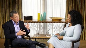Lance Armstrong ja Oprah Winfrey..