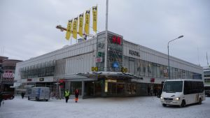 H-talo Kuopion keskustassa.