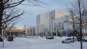 Tampere-talo ulkoa