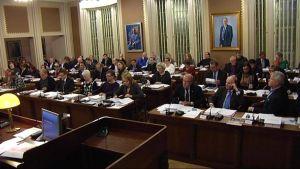 Lahden kaupunginvaltuuston kokous vuonna 2013