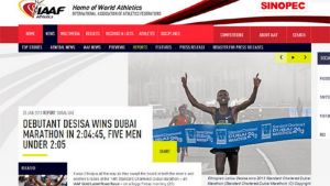Dubaissa viisi miestä alitti maratonilla ajan 2.05.