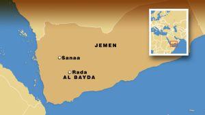 Jemenin kartta