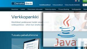 nettisivu ja Javan logo