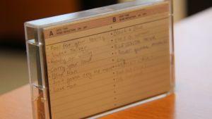 C-kasetin yksi etu oli se, että siihen saattoi äänittää useita kertoja päällekkäin