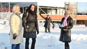 Ympäristötaidekilpailu palkintolautakunta Rovaniemi
