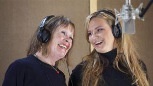 Ann Christine ja Katja Lukin