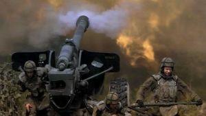 Kuva Puolustusvoimien maavoimien uutta taistelutapaa kuvaavalta videolta.