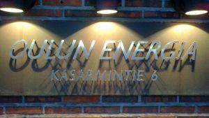 Oulun Energian toimisto sijiatsee Kasarmintiellä.