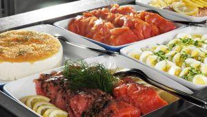 Viking Linen kalabuffetpöytä
