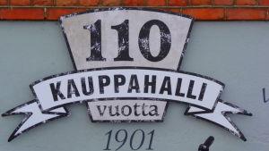 Oulun kauppahalli 110 vuotta