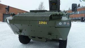 Patrian AMV-vaunu Hämeenlinnassa 5.3.2013