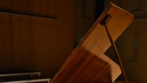 Conrad Grafin valmistama fortepiano.