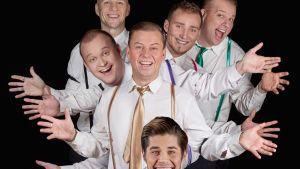 Five Guys Named Moe -musikaalin näyttelijät