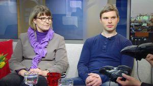 Erja Parviainen ja Janne Sipponen