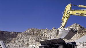 Metson valmistamaa kaivosteollisuuskoneistoa.