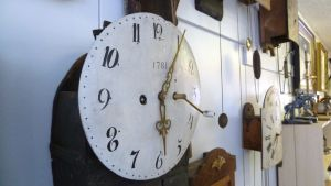 Vanha kello vuodelta 1781