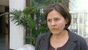 Omistajaohjauksesta vastaava ministeri Heidi Hautala.