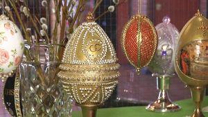 koristeellisia pääsiäismunia