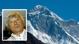 Yuichiro Miura ja Mount Everest.