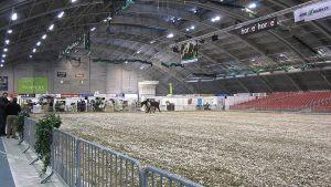 Hevosmessujen areena Tampereen messu- ja urheilukeskuksessa
