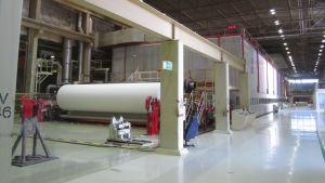 Paperikone UPM Rauman tehtaalla